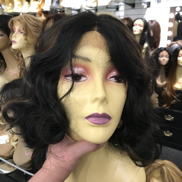 New Wig Alert Long Bob Highlights Wig Wave Thick Poshmark