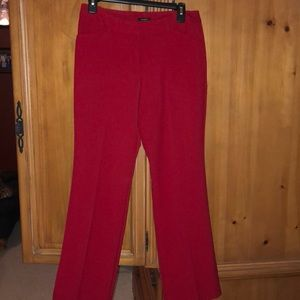 Worthington Red Modern Fit Dress Pants
