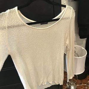 Brandy Melville cream soft sweater