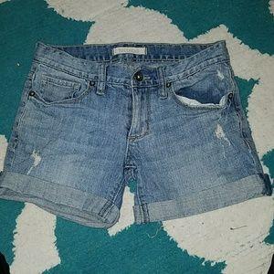 Bullhead boyfriend style shorts