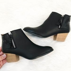 Stella Black Booties