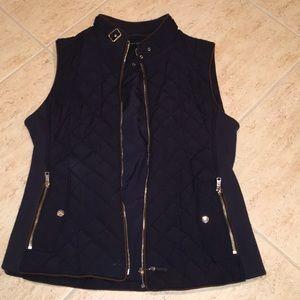 Navy Zara Vest