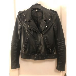 Leather Jacket H & M