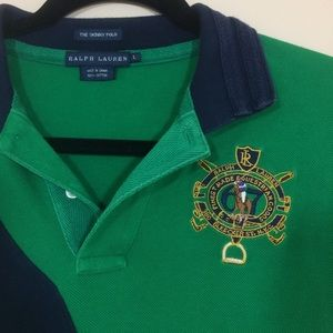 Women's Ralph Lauren Rugby Style Skinny Polo L