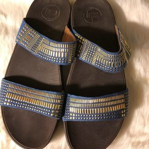 Fitflop stud sandals size 9