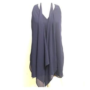Detachable scarf tunic
