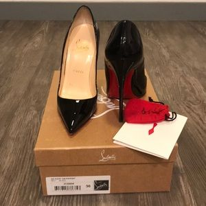 Christian Louboutin So Kate Patent Leather Sz 6
