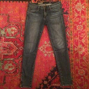 AG Zip-up Legging Ankle jeans