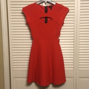 Material  Girl  Cut Out front and sides Dress