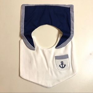 Other - New Sailor Baby Bib