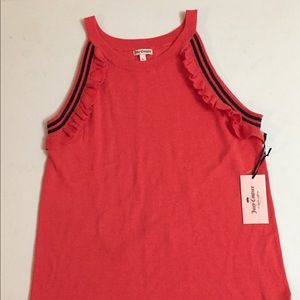 Juicy Couture Size L Sleeveless Sweater NWT