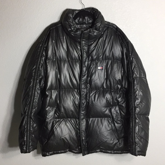 Vintage 90s TOMMY HILFIGER Bubble Puffy Jacket