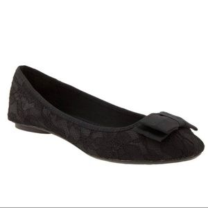 New Old Navy Lace Bow Ballet Flat