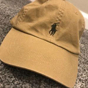 Khaki Polo Ralph Lauren Hat!