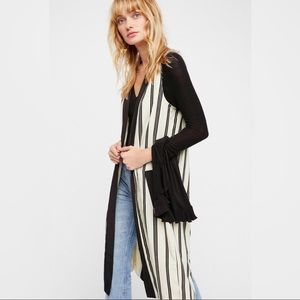 Free People Striped Vest