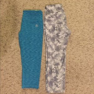 Cropped legging bundle! Old Navy Active and RBX