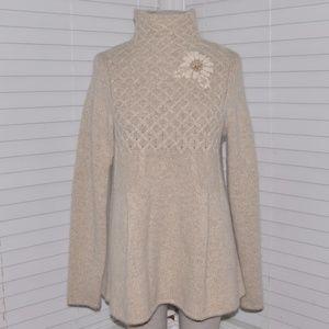 VICTORIA'S SECRET Moda Int'l Wool Tunic Sweater A5