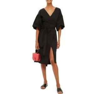 Topshop Balloon Sleeve Dress sz 2 fits 0