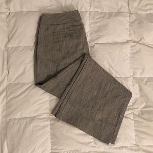 The Limited Lexie Fit Gray Pants Slacks Wide Leg