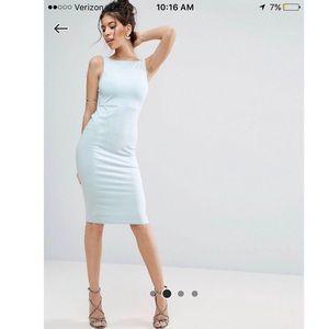 ASOS Bow Back Midi dress