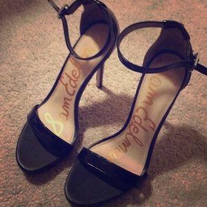 Sam Edelman Black High Heels sz 8