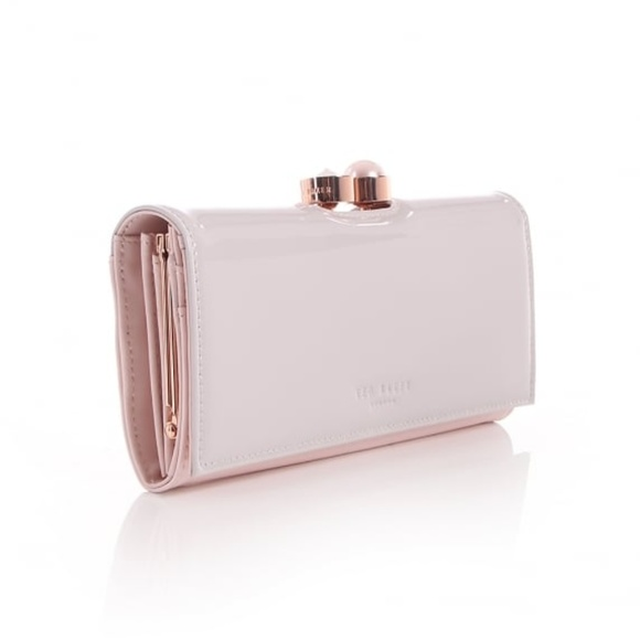d6e1bac16 NWT Ted Baker Light Pink Cecile Flapover Purse