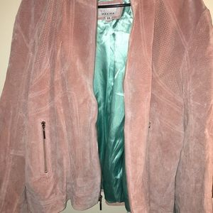 Pink maxima jacket from Wilson's leather size 3x
