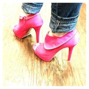 Hot pink Charlotte Russe heels