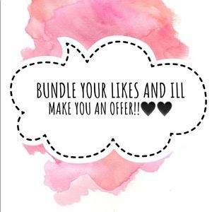 BUNDLE YOUR LIKES FOR A GREAT OFFER!!!