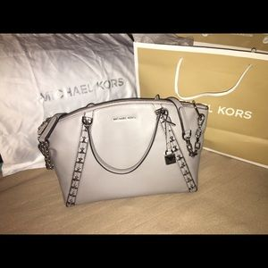 Michael Kors Grey Sadie Satchel