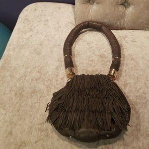 Cynthia Rowley chic/boho.gray bag