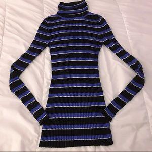 EXPRESS Stripes dress sweater