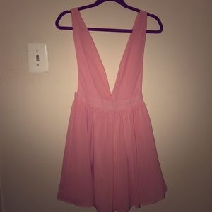 Pink dress from Tobi