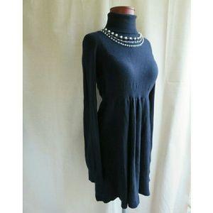 Rebecca Taylor Cashmere Sweater Party Dress L