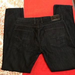 Guess dark wash slim fit jean