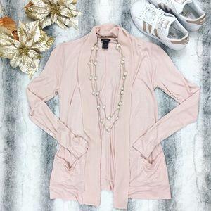Ann Taylor • Pink Cardigan