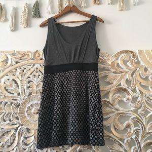 Modcloth Gray Mini Dress
