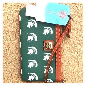 Dooney and Burke Wristlet (MSU)