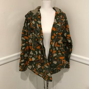 Numph camo utility jacket sz 6 worn once