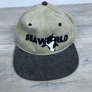 Vintage Sea World SnapBack Hat