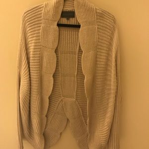 Anthro Knitted Sweater/ Open Cardigan