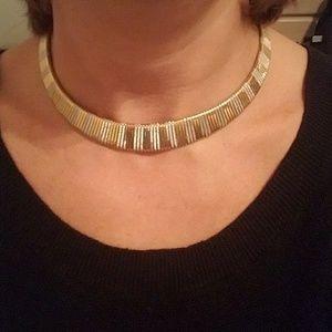 Jewelry - Two-Tone chocker