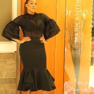 Dresses & Skirts - Mermaid Style Ruffle Dress