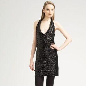 Moschino Sequin Halter Dress Sz 10