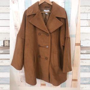 Vintage Plus Brown Coat