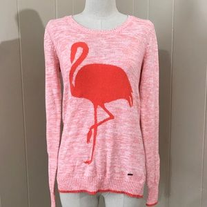 Volcom orange/pink sweater