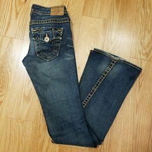 True religion , preloved  jeans sz 26