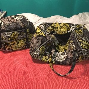 Vera Bradley Large Duffle/ Campus Tech Backpack