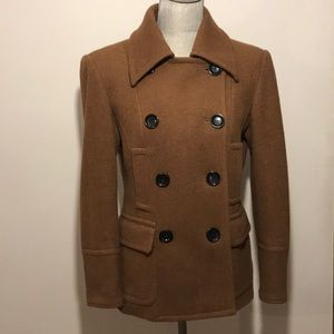 Michael Kors Brown Peacoat ~ Size M ~ stylish!!