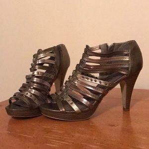 Madden Girl Metallic Heels